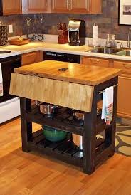 leaf kitchen cart: kitchen islands with folding leaf kitchen islands