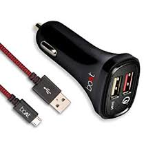 boAt Dual Port <b>Rapid Car Charger</b> (Qualcomm Certified) with <b>Quick</b> ...