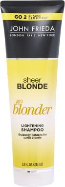 <b>John Frieda Sheer Blonde</b> Go Blonder Lightening Shampoo | Ulta ...