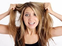 Un mauvais coup de cheveux
