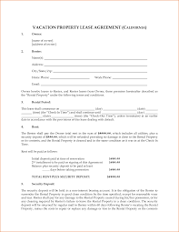 7 property rental agreement printable receipt california vacation property rental agreement by megadox