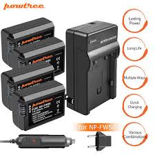 <b>Powtree</b> NP-FW50 Battery for <b>Sony</b> Alpha A6500 A6300 A6000 A7r ...