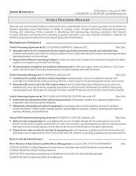 example sterile processing manager resume free sample sterile processing technician resume example