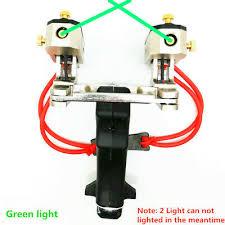 <b>Green</b>/<b>Red</b> Dot <b>Laser</b> Light <b>Catapult</b> Folding High Velocity <b>Slingshot</b> ...