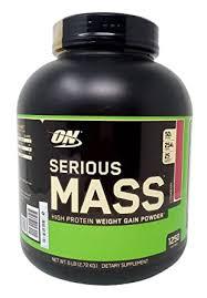 Buy Optimum Nutrition <b>Serious Mass High Protein</b> Weight Gain ...