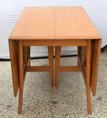 1950s Dining Room Furniture Maple Heywood Wakefield Drop Leaf Dining Table 1950s Saturday
