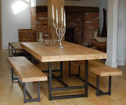 Dining Room Table With Benches Dining Dining Room Tables With Benches For Sale Sneakergreet Com