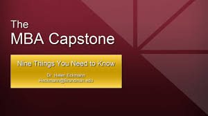 everything you need to complete your mba capstone project in one everything you need to complete your mba capstone project in one place capstone paper