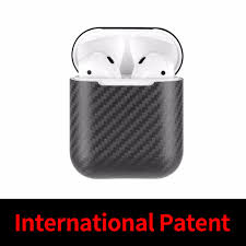 Mcase For Apple AirPods 100% <b>Real Carbon Fiber Case</b> Ultra Thin ...