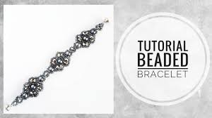 "#МК - Браслет ""<b>Серебристый</b> графит""   #Tutorial - Bracelet ""Silver ..."