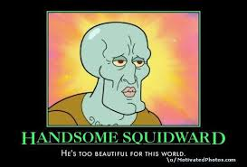 Image - 56561] | Handsome Squidward / Squidward Falling | Know ... via Relatably.com