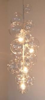 dans une cage descalier alluring bubble lighting fixtures