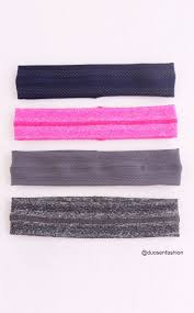 yoga hair ribbon hollow out sweat bands breathable sweat absorption anti slip comfortable sport hairbands for men and women