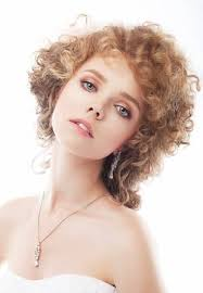 Sensual <b>Woman</b> Bride With Shiny <b>Curly</b> Red Hair And <b>Chic</b> Evening ...