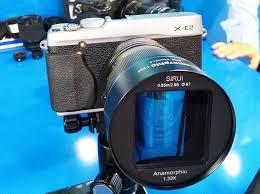 Представлен анаморфный <b>объектив Sirui</b> 50mm f/1.8 1.33x