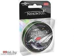 <b>Леска Mikado Nihonto Fine</b> Braid 0.10mm 15m Green Z21G-010 ...