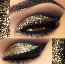 Image result for The latest model golden eye shadow