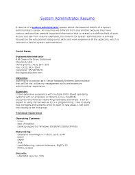 sample resume for experienced network administrator sample sample resume for experienced network administrator sample network administrator resume 1 network sample resume network administrator