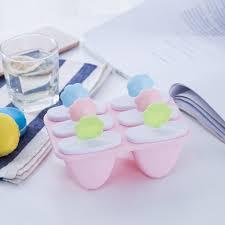 [32% OFF] Smiley Face 6 Lattice <b>Popsicle Mold</b> DIY Ice Cream ...
