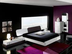 purple black and white bedroom black white bedroom interior