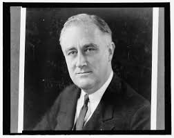 franklin delano roosevelt head and shoulders portrait facing franklin delano roosevelt head and shoulders portrait facing slightly left library of congress