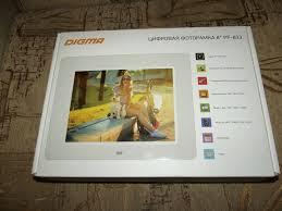 Обзор от покупателя на Цифровая <b>фоторамка</b> DIGMA PF-833 ...