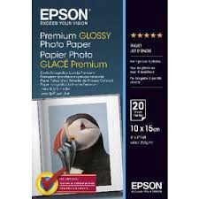 Epson 255gsm A4 <b>Premium Glossy Photo Paper</b> 20 Pack   Officeworks