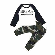 Casual <b>Children</b> Sets 2Pcs Toddler <b>Kids</b> Baby <b>Boys Camouflage T</b> ...