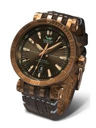 <b>Vostok Europe</b> Energia 2 Bronze Bronze/Brown <b>Watch</b> NH35A ...