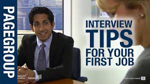 job interview tips for your first job com