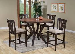 Floral Dining Room Chairs Bar Stool Table And Chairs Rustic Hickory Pub Table Set