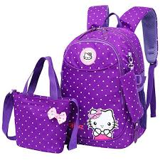 ABS_ABSL <b>3 pcs Set</b> Satchel Children <b>School Bags</b> For Teenagers ...