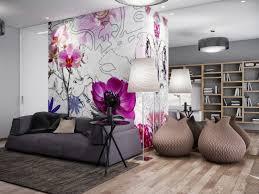 wall murals living room home design