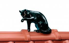 <b>Декоративный</b> элемент BRAAS <b>Кот</b>, <b>черный</b>, 25 см, цена - купить ...