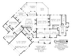 Nantahala Cottage   Rustic Mountain House PlanFloor Plans for Ranch House Plans  European Floor Plans