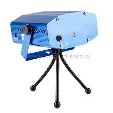 <b>Neon</b>-<b>night Лазерный проектор</b> с эффектом цветомузыки, 230 В ...
