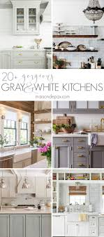 open kitchen design farmhouse: including marble countertops and backsplashes subway tiles open shelving farmhouse sinks two tone cabinets and more kitchen design inspiration by