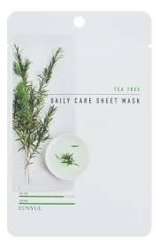 Тканевая <b>маска для лица</b> с экстрактом чайного дерева Tea Tree ...