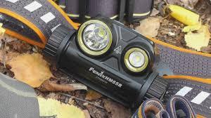 <b>Налобный фонарь Fenix</b> HM65R с раздельной оптикой. Обзор и ...