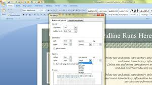 template in microsoft word sanusmentis how to change the default template i