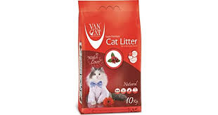 <b>Van Cat</b> 10 kg <b>Natural</b> White Bentonite Clumping Cat Litter: Buy ...