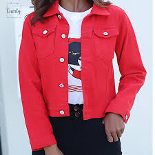 Jacket And Coats For <b>Women</b> 2019 <b>Autumn Candy Color</b> Casual ...