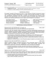 examples of rn resume  seangarrette coexamples of rn