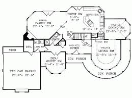 Queen Anne House Plan   Square Feet and Bedrooms from    Level