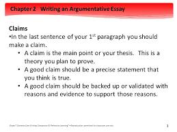Argumentative essay writing  th grade     FC Lisse