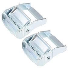 "uxcell <b>2Pcs</b> Zinc Alloy Cam Buckle Lock Silver Tone for 1.5"" <b>Tie</b> ..."