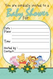 winnie the pooh invitation templates com this awesome winnie the pooh baby shower invitations will inspire