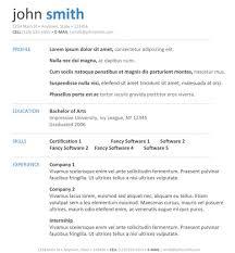 resume template job sample outline wordpad in inspiring 85 inspiring resume templates template