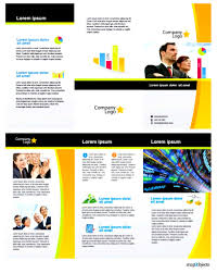 brochure templates for word one page print examples it