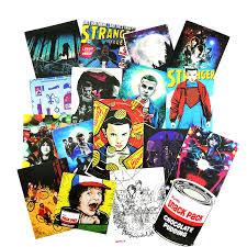<b>18pcs</b>/<b>lot American Movie Stranger</b> Things Stickers For Notebook ...